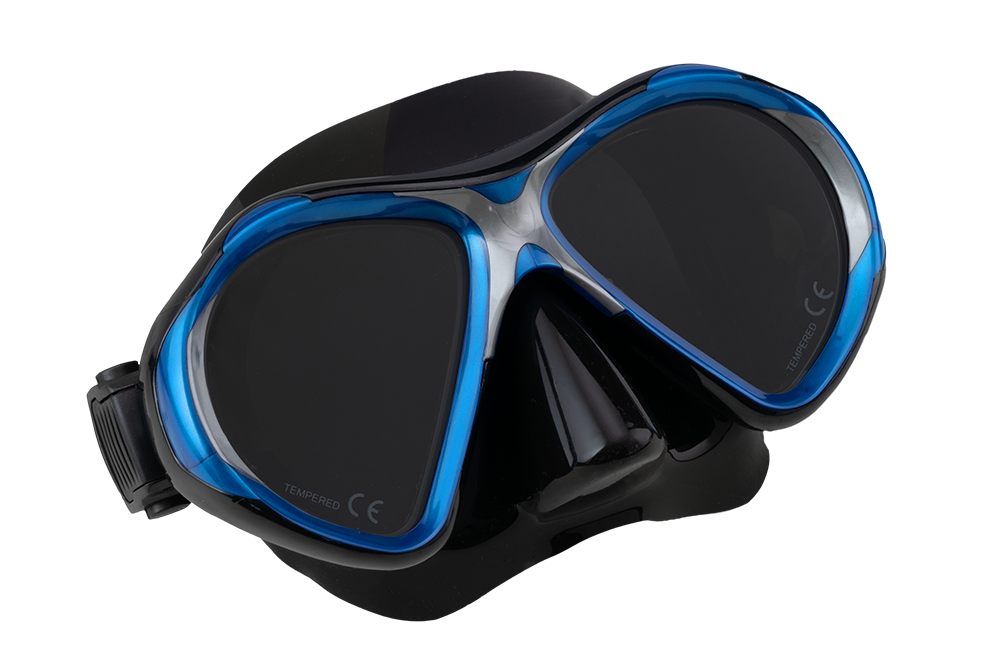 SCUBA FORCE VISION II MASK BLUE-BLACK