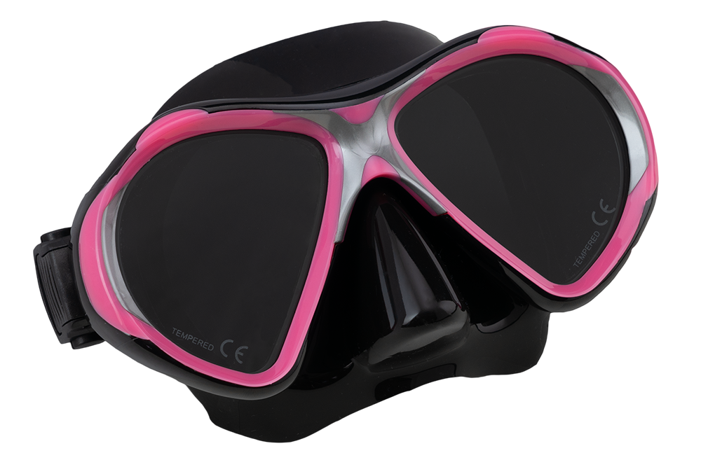 SCUBA FORCE VISION II MASK PINK-BLACK
