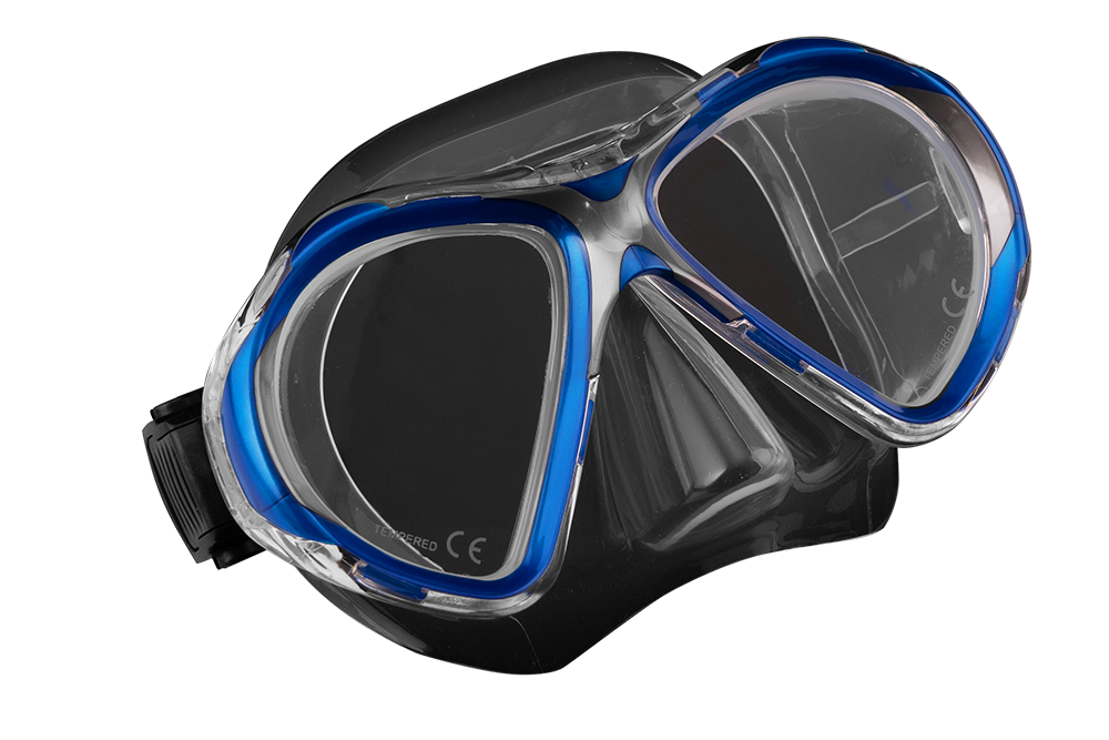 SCUBA FORCE VISION II MASK BLUE-CLEAR