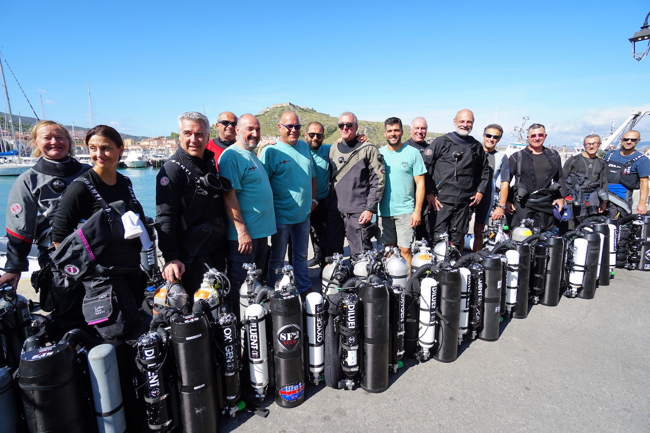 SF2 rebreather weekend Italy