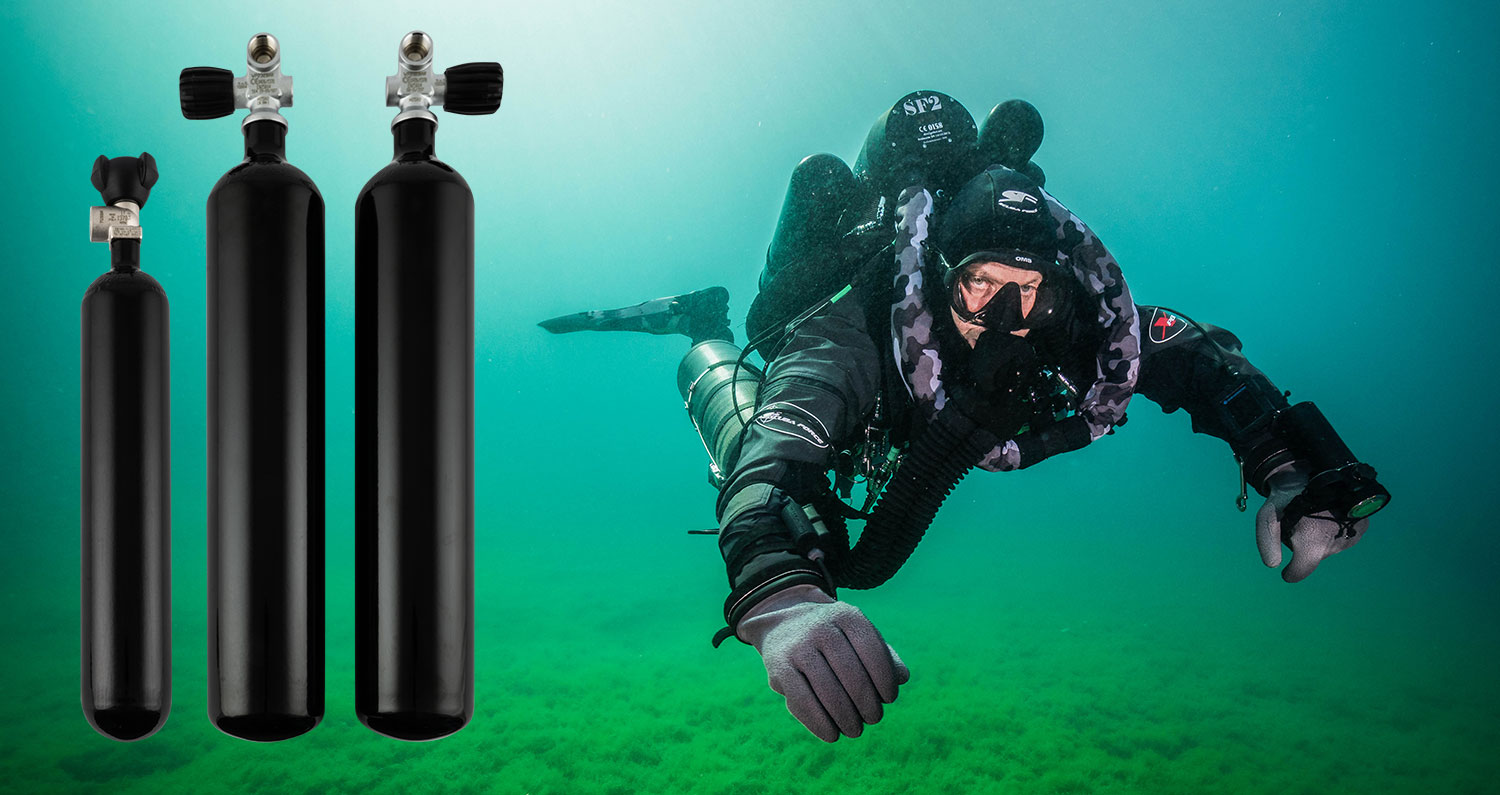 SCUBA FORCE CYLINDERS