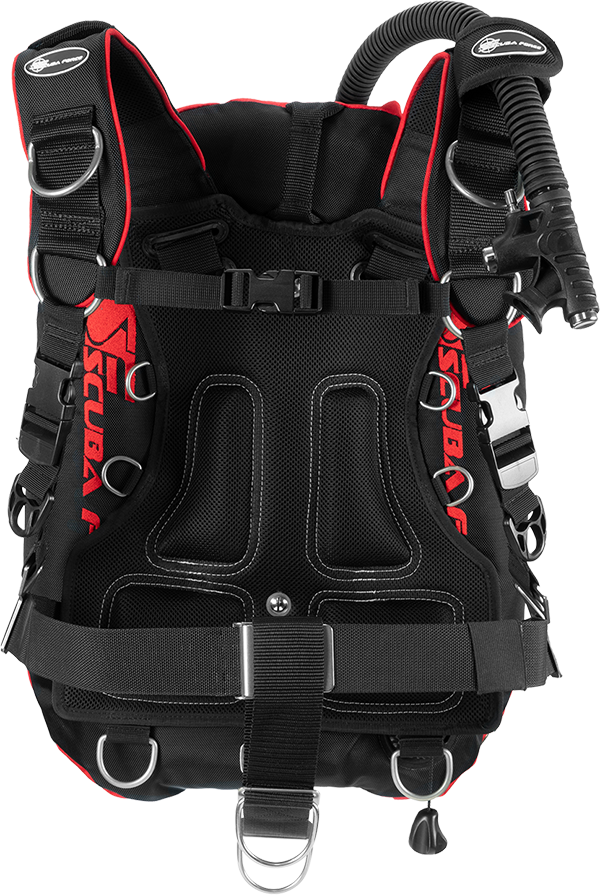 COMFORT HARNESS RED