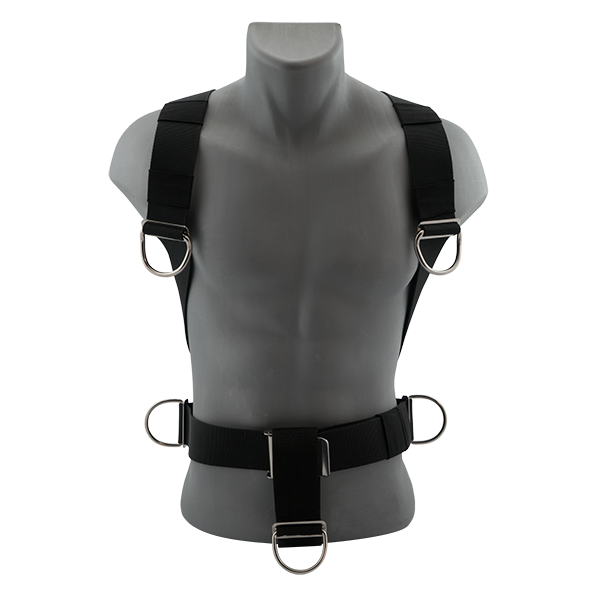 TEC HARNESS BLACK DEVIL